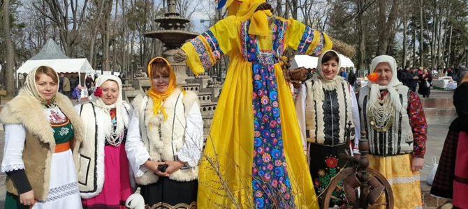 В Кишиневе прошли народные гуляния, посвященные Масленице
